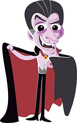 Selbstklebend Wandtattoo Fete Deco Halloween MacBook Auto Dracula Kinder Vampir