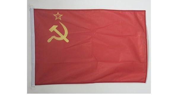 Drapeau de Bateau Russe 30 x 45 cm AZ FLAG Pavillon Nautique Russie avec Aigle 45x30cm