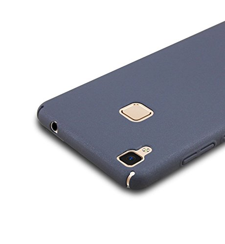 Prosper Premium Quality Back Cover For Vivo V3 max (Black) (Protect from all four sides)