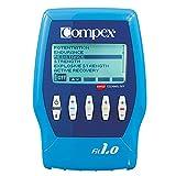 Compex Fit 1.0 Electroestimulador, Unisex, Azul, 0