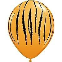 Qualatex Tiger Stripes Safari 11 Latex Balloons 25pk by Qualatex