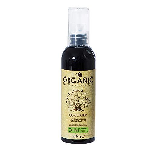 Belita ORGANIC Öl-Elixier mit Phytokeratin 100ml, OHNE Farbstoffe, OHNE Parabene, OHNE Silikone
