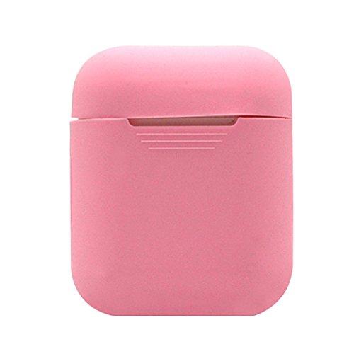 Zerama Per la Cassa Portatile del Silicone Airpods Senza Fili Cuffie Box Coperchio Antipolvere Protector Antiurto