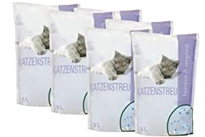 Katzenstreu spezial 6 Stück x 5 Liter 30 Liter Spezialstreu