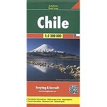 Chile, Autokarte 1:1.200.000, freytag & berndt Auto + Freizeitkarten