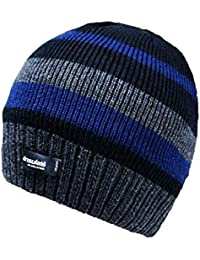 Berretto da Uomo Beanie Hat Cappello Termico con Fodera in Pile Winter  Thermal e4e862576183