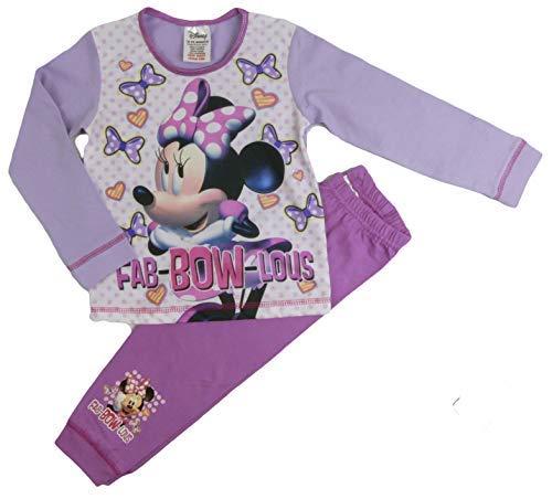 Disney Princess Kleiner Meerjungfrau und Tinkerbell Pyjama 18months to 3-4 Years - Minnie Maus, Größe 98