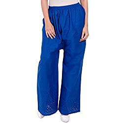 Diva Boutique Womens Palazoo (bc-17_Blue_Large)