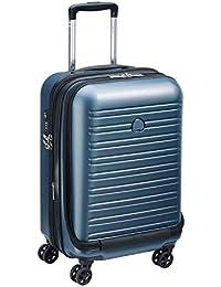 DELSEY PARIS SEGUR 2.0 Valise, 55 cm, 42,9 litres, Bleu