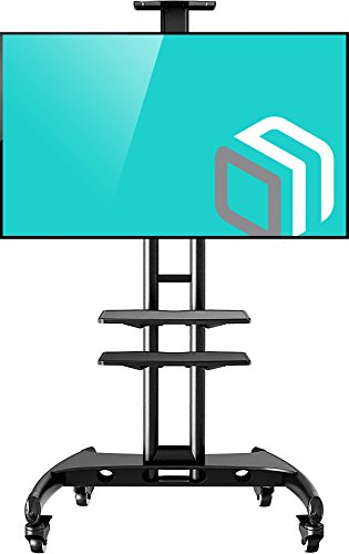 North Bayou Universal Mobile TV Warenkorb TV-Ständer mit Halterung für LED LCD-Plasma Flat Panel und zeigt 32bis 165,1cm bis zu 100lbs ava1500-60-1P 60 Universal Flat-panel Mount