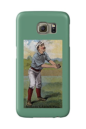 Philadelphia Quakers - Ed Andrews - Baseball Card (Galaxy S6 Cell Phone Case, Slim Barely There)