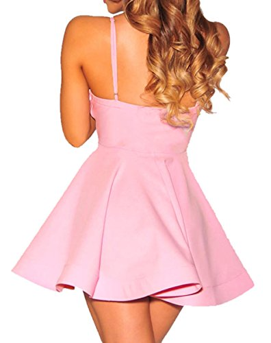 Dissa® D22198C4 femme mode Robe de soirée Rose