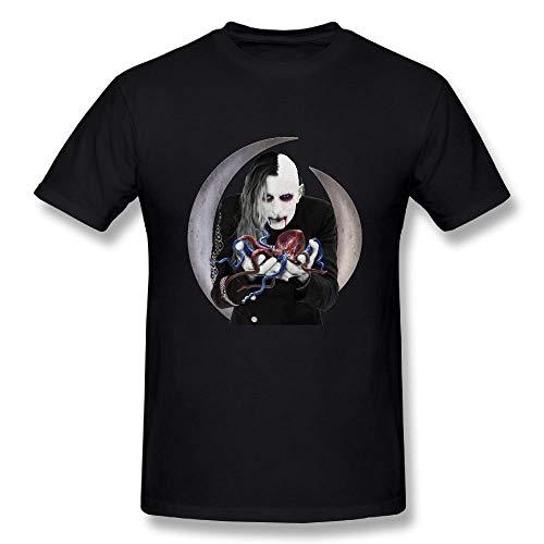 aiGosry Mens Fashion A Perfect Circle Eat The Elephant Tshirts Black,Black,XX-Large -
