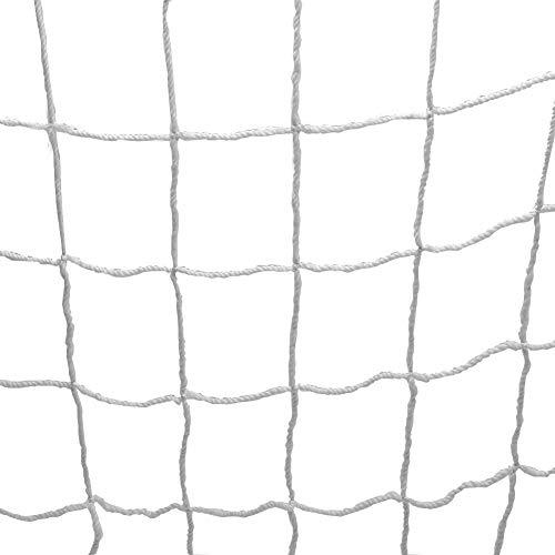 Fußball Tor Net, Full Size Fußball Sport Ersatz Tor Netze Polypropylen Fußball Torpfosten Net für Sport Match Training(8X6FT) MEHRWEG VERPAKUNG