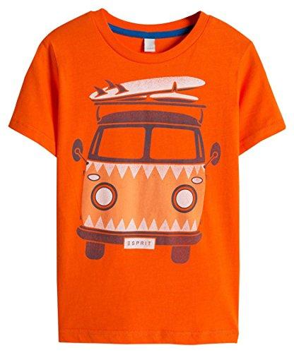 esprit-t-shirt-garcon-orange-8-ans