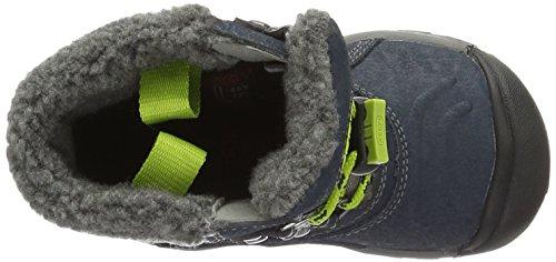 Keen Basin, Chaussures de Randonnée Hautes Mixte Enfant Bleu (Midnight Navy/Macaw)