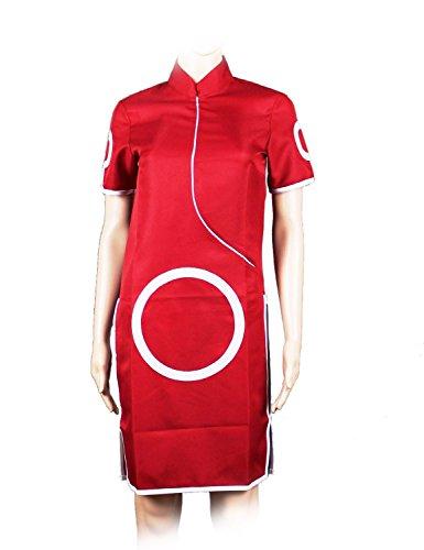 ao Kleid von Sakura Haruno aus Naruto, Größe: L (Naruto Shippuden Hinata Hyuga Cosplay Kostüm)