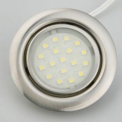 "Berling LED Einbaustrahler ""SUN"" 1W 12 V warmweiß, 5er Set von Berling Living Lights GmbH auf Lampenhans.de"