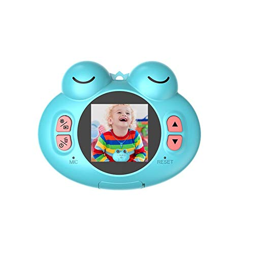 Womdee Kinderspielzeug-Kamera, Kompaktkameras für Kinder, 12 m, 1080P HD-Videokamera, kreatives Geschenk für Mädchen und Jungen blau