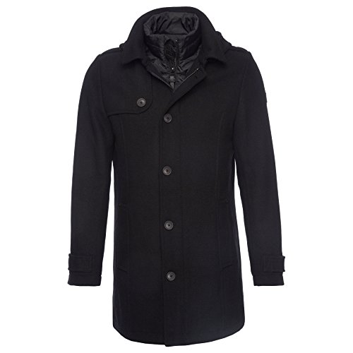 Tom Tailor - manteau, caban, duffle coat Noir