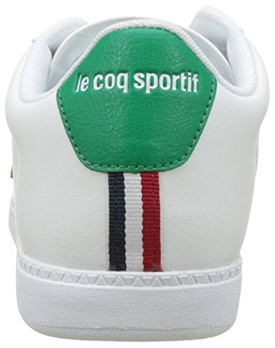 Le Coq Sportif Herren Courtset Sneakers Weiß (Optical White/Ver Cl)