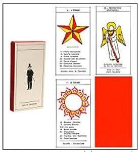 Oracle Spirite de Mariana - Jeu l'Oracle de Mariana Jeu de spiritisme Cartes et feuillet en français, Oracle simple et précis idéal pour débutant, cartomancie, tarot