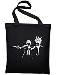Pulp Fiction Rick and Morty Fan Jutebeutel Aufdruck