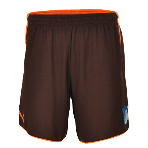 Puma Fußball Bundesliga Shorts kurze Hose S braun / orange // TSG 1899 Hoffenheim