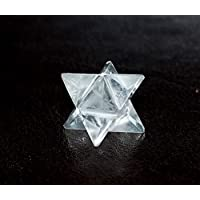 Reiki heilende Energie geladen Bergkristall klar Kristall Merkaba-Stern (1,5cm) Wunderschön als Geschenk verpackt preisvergleich bei billige-tabletten.eu