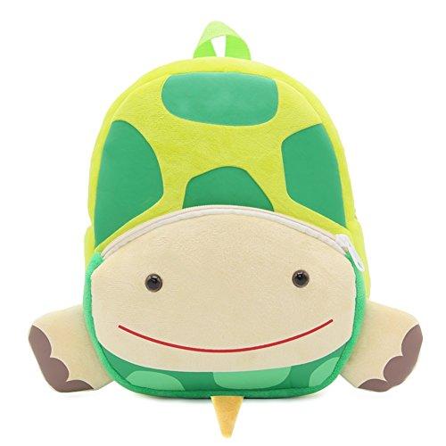 XLXWJJLY Cute Cartoon Kinderrucksäcke Einhorn Schildkröte Muster Vorschule Kindergarten Mini Schulranzen Plüsch Stoff Tasche Kinder Rucksack für Babys Kleine (Kleinkind Junge Ninja Turtle Kostüm)