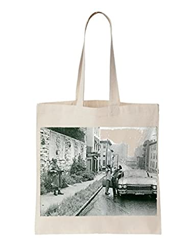 Newark 1967 RiotTwo men arrested by a soldierPhoto taken 1967 printed Tote bag