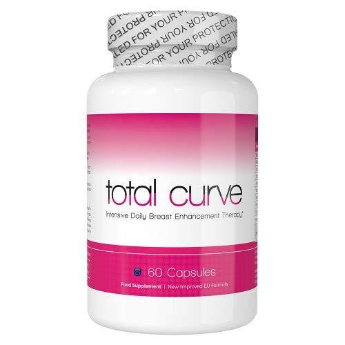 Total Curve zur Brustvergrößerung - 60 Tabletten  Für mehr Brustvolumen   Natürliche Bruststraffung  Brustvergrößerung ohne Op   Natürliches Ergänzungsmittel   Wirksame Schönheitspflege