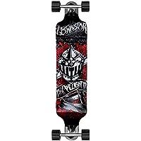 Deuba Atlantic Rift Longboard Skateboard Komplettboard Stunt Cruiser City Offroad | ABEC 7 & 9 Kugellager | 9-lagiges Ahornholz -【 Modell- & Motivauswahl】
