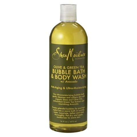 SheaMoisture Olive & Green Tea Bubble Bath & Body Wash - 16 fl oz by SheaMoisture