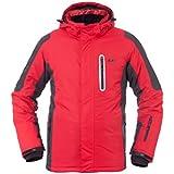 Ultrasport Ischgl - Chaqueta de esquí para hombre, color rojo, talla XL