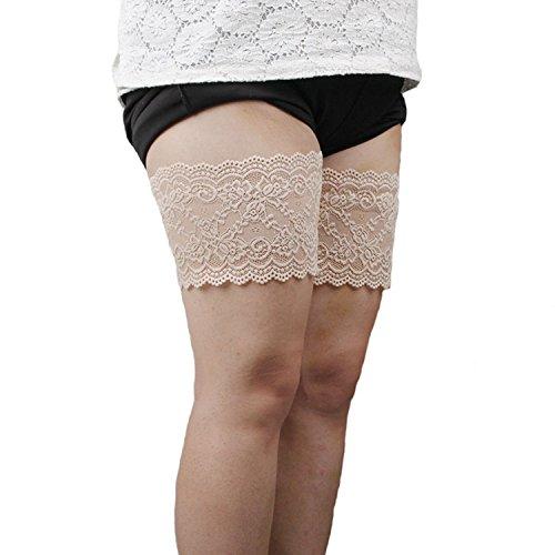 xhorizon TM FM8 Frauen Elastisch Anti-Scheuern Schenkelbänder Verhindern Oberschenkel Chafing mit Silikon Neu Test