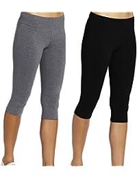 iLoveSIA® Sport leggings damen Hosen YOGA Capri Jogginghose