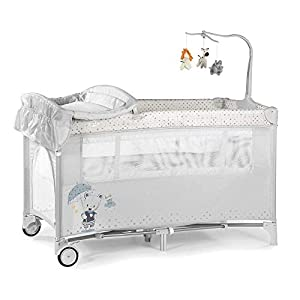 Complete Plus Travel Crib - MS Innovations Grey   4
