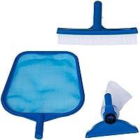 Intex - Kit de limpieza básico recoge hojas, cepillo y cabezal (29056) (modelo variable según imagen)