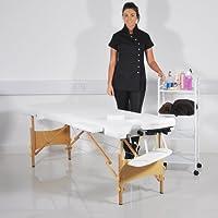 Heaven ®-Tavolo da massaggi, in legno bianco, letto, divano
