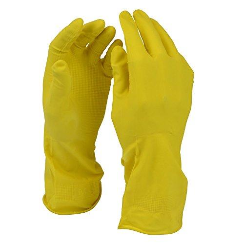 Schulz Haushaltswaren GmbH Haushaltshandschuhe Gr. 7 small Gummihandschuhe Handschuhe