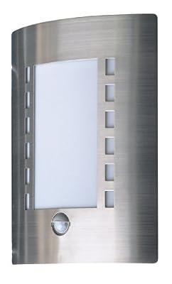 Ranex 5000.086 Edelstahl Wandleuchte, Außenleuchte mit Bewegungsmelder von Ranex GmbH bei Lampenhans.de