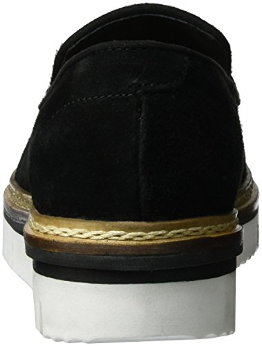 BIANCO - Cleated Loafer Exp16, Mocassini Donna nero (nero)