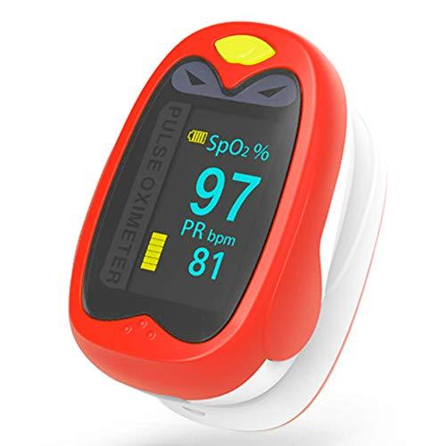 Hermano Finger-Pulsoximeter mit Herzfrequenz-Überwachungsfunktion für Kleinkinder, Kinder, Teenager