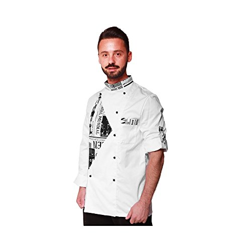 253c9c950ea9 Linea Trendy - Chaqueta Unisex Cocina Diseño Fumeto