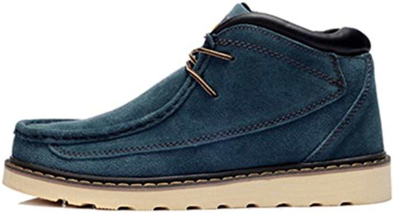 Herren Freizeitschuhe Dress Bergsteigen Herbst Outdoor Stiefel Sport Schuhe Rutschen Schwarzbraun