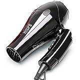 DoMoment Extrem leise elektrische Haartrockner-Einstellung der Leistung-1000W Faltbare Reise-Salon-Gebrauch-Haartrockner-Fön-Schlag-Trockner