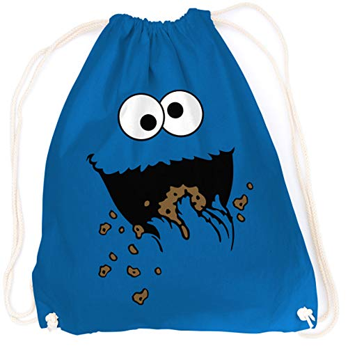 vanVerden Sport Rucksack Cookie Monster, Farbe:Bright Royal ()