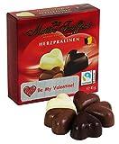 Belgische Herzpralinen Valentinstag Mini - Geschenk, 1er Pack (1 x 45g)