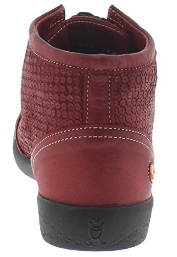 Softinos Inu343sof, Sneakers Hautes femme Rouge